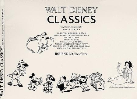 Walt Disney Classics - Easy Piano