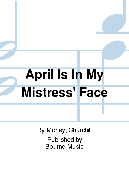 April Is In My Mistress' Face