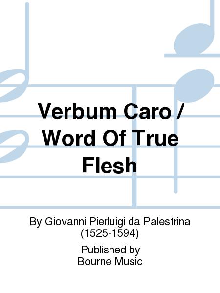 Verbum Caro / Word Of True Flesh