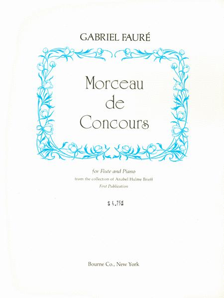 Sehr Morceau De Concours Sheet Music By Gabriel Faure - Sheet Music Plus QB65