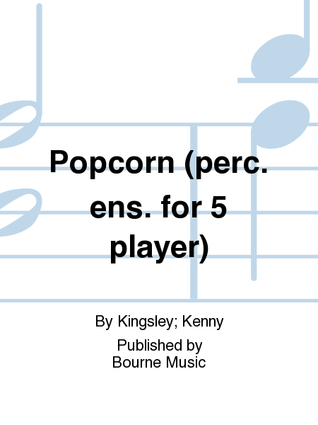 Popcorn (perc. ens. for 5 player)