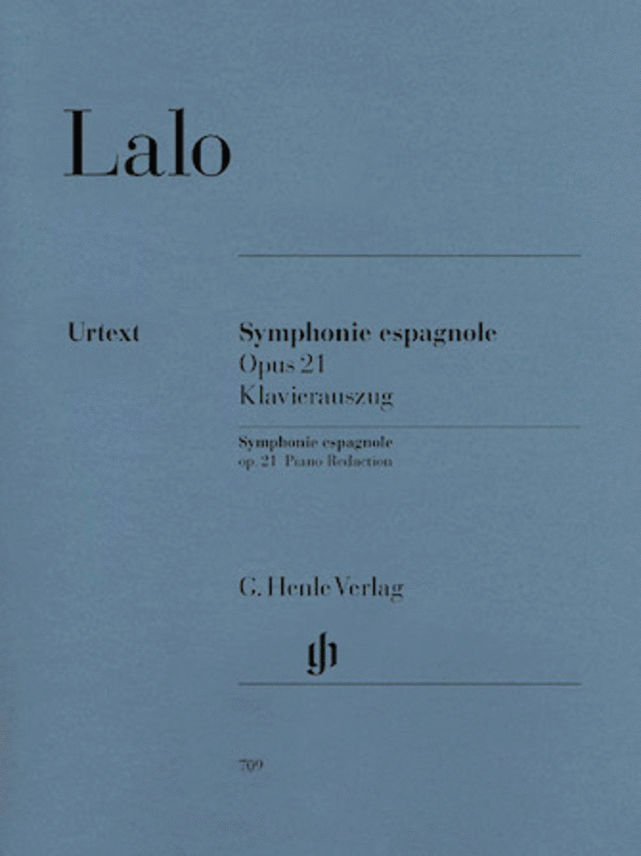 Symphonie Espagnole for Violin and Orchestra in D Minor Op. 21