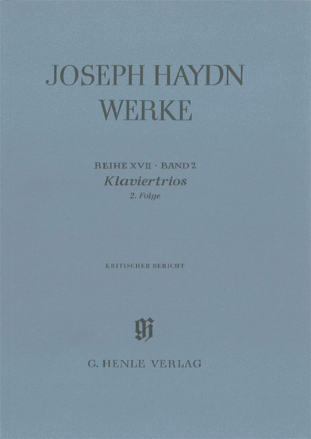 Piano Trios, 2nd Volume