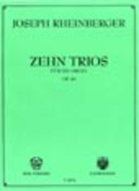 Zehn Trios Op. 49