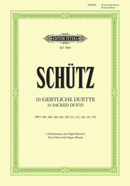 Zehn Geistliche Duette (Ten Sacred Duets)