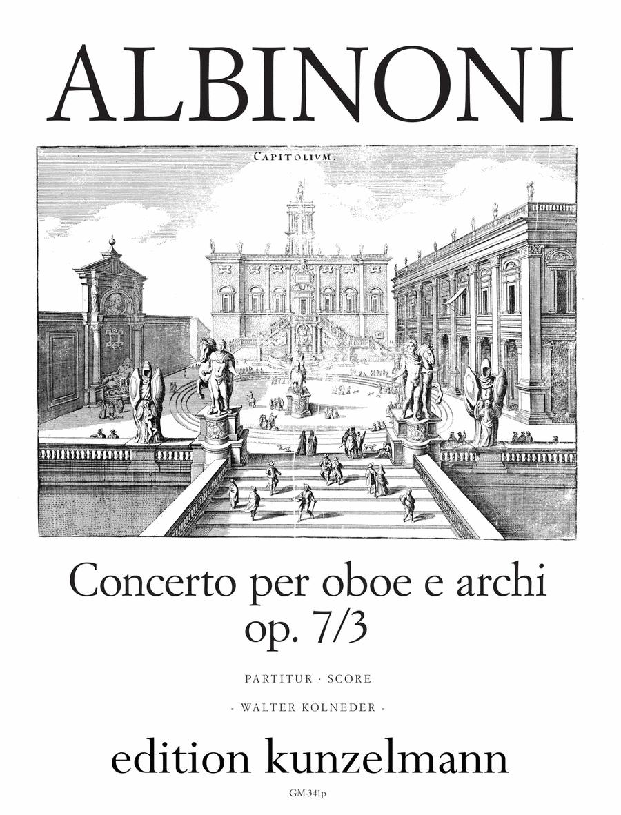 Concerto a cinque in Bb Major Op.7 No.3