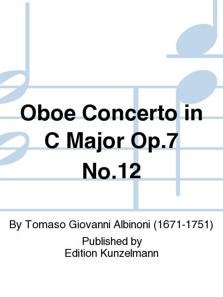 Oboe Concerto in C Major Op. 7 No. 12