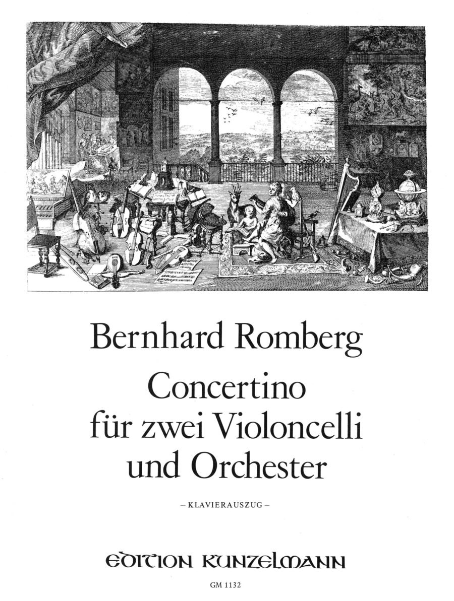 Concertino for Two Cellos and Orchestra Op. 72