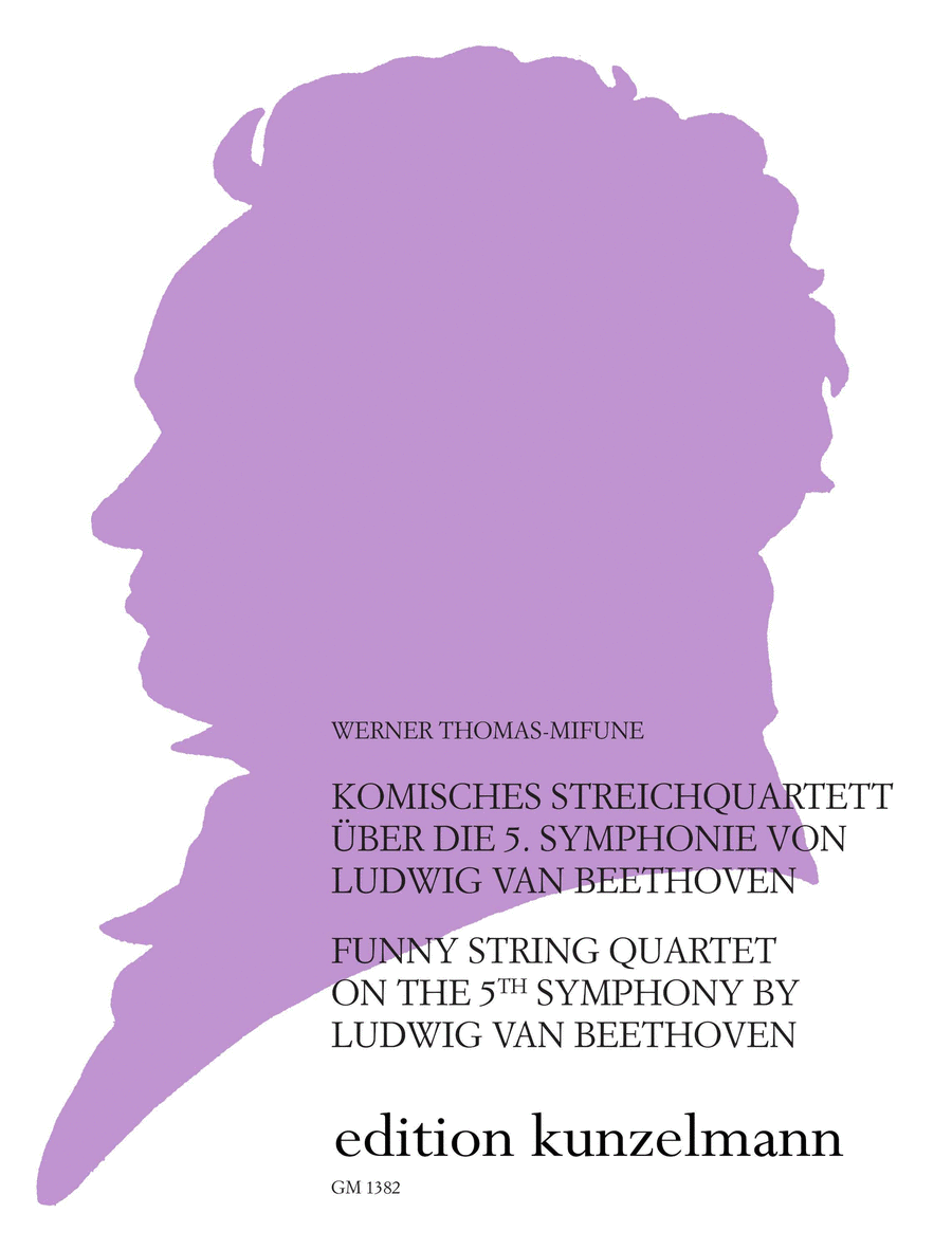 Comic Quartet based on Beethoven's Fifth Symphony