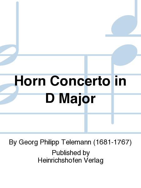 Horn Concerto in D Major