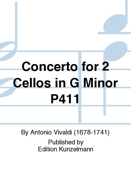 Concerto for 2 Cellos in G Minor P411
