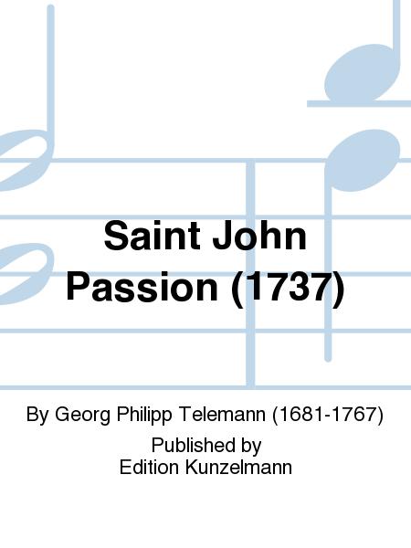 Saint John Passion (1737)