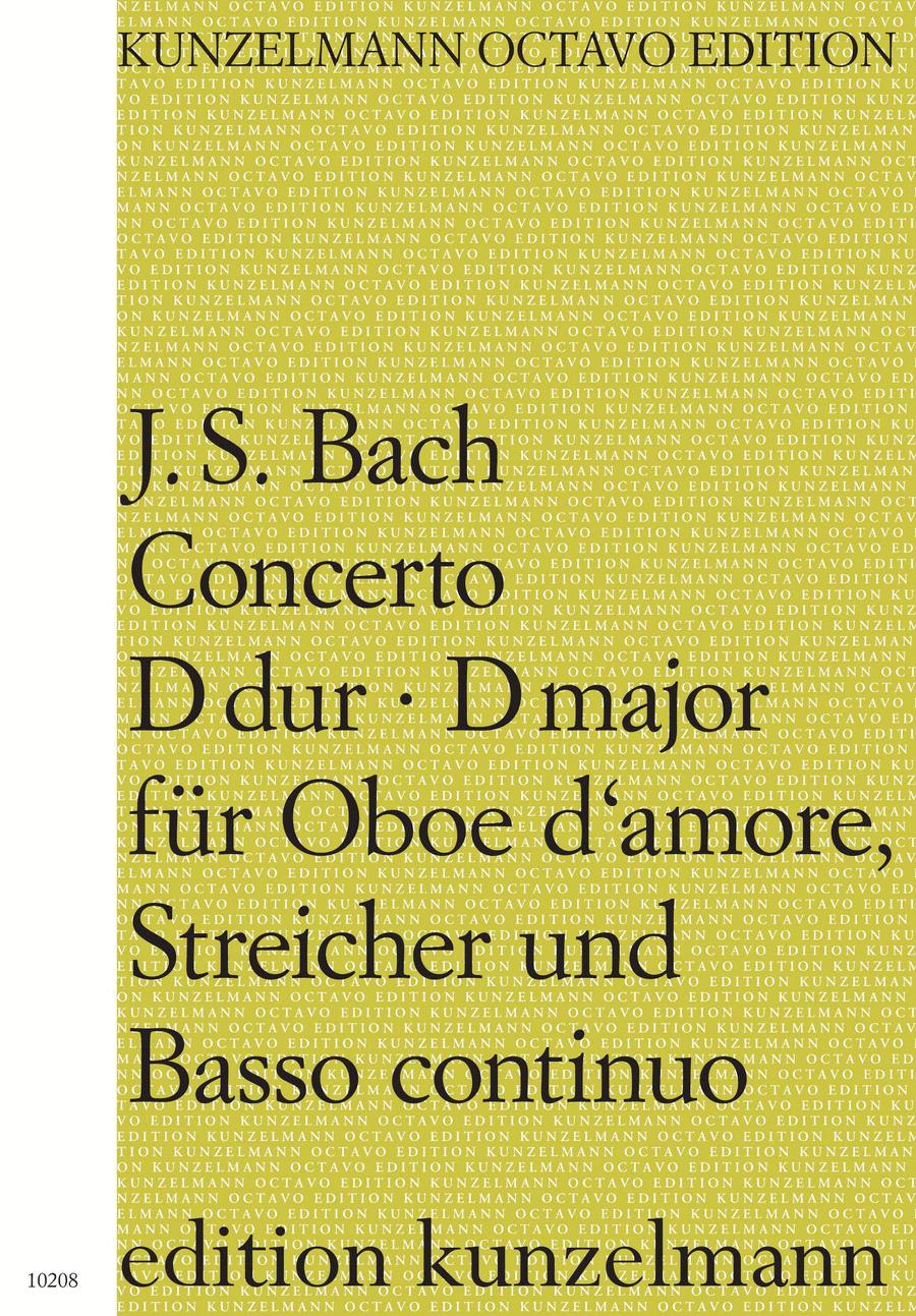 Oboe d'amore Concerto in D Major