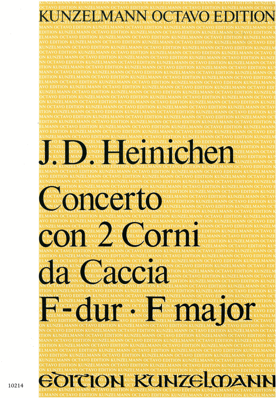 Concerto for 2 Horns (full score)