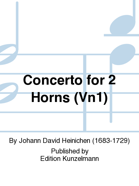 Concerto for 2 Horns (Vn1)