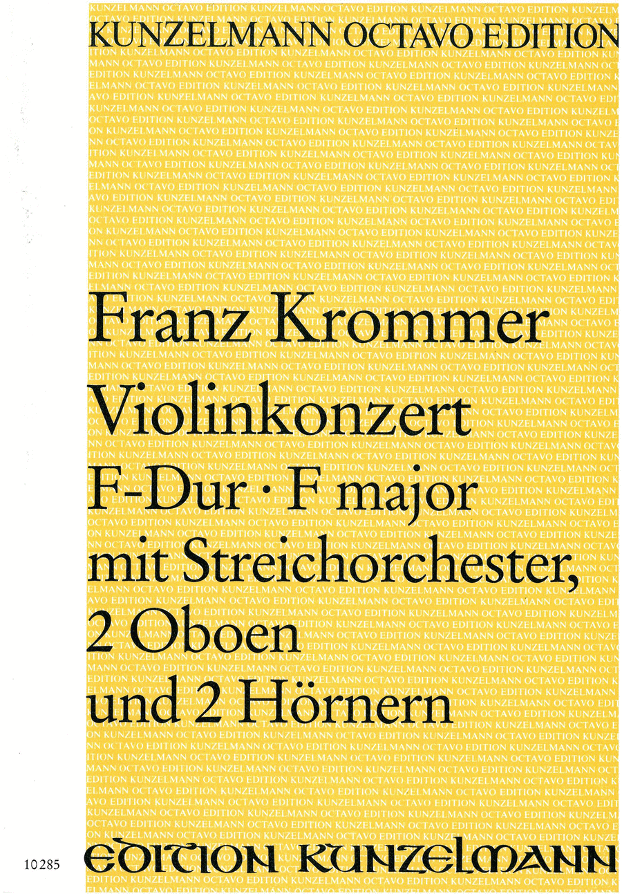Violin Concerto in F Major