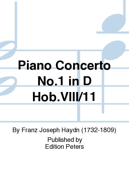 Piano Concerto No. 1 in D Hob.VIII/11