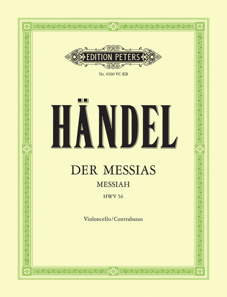 der messias messiah hwv 56 sheet music by george frideric handel sheet music plus. Black Bedroom Furniture Sets. Home Design Ideas