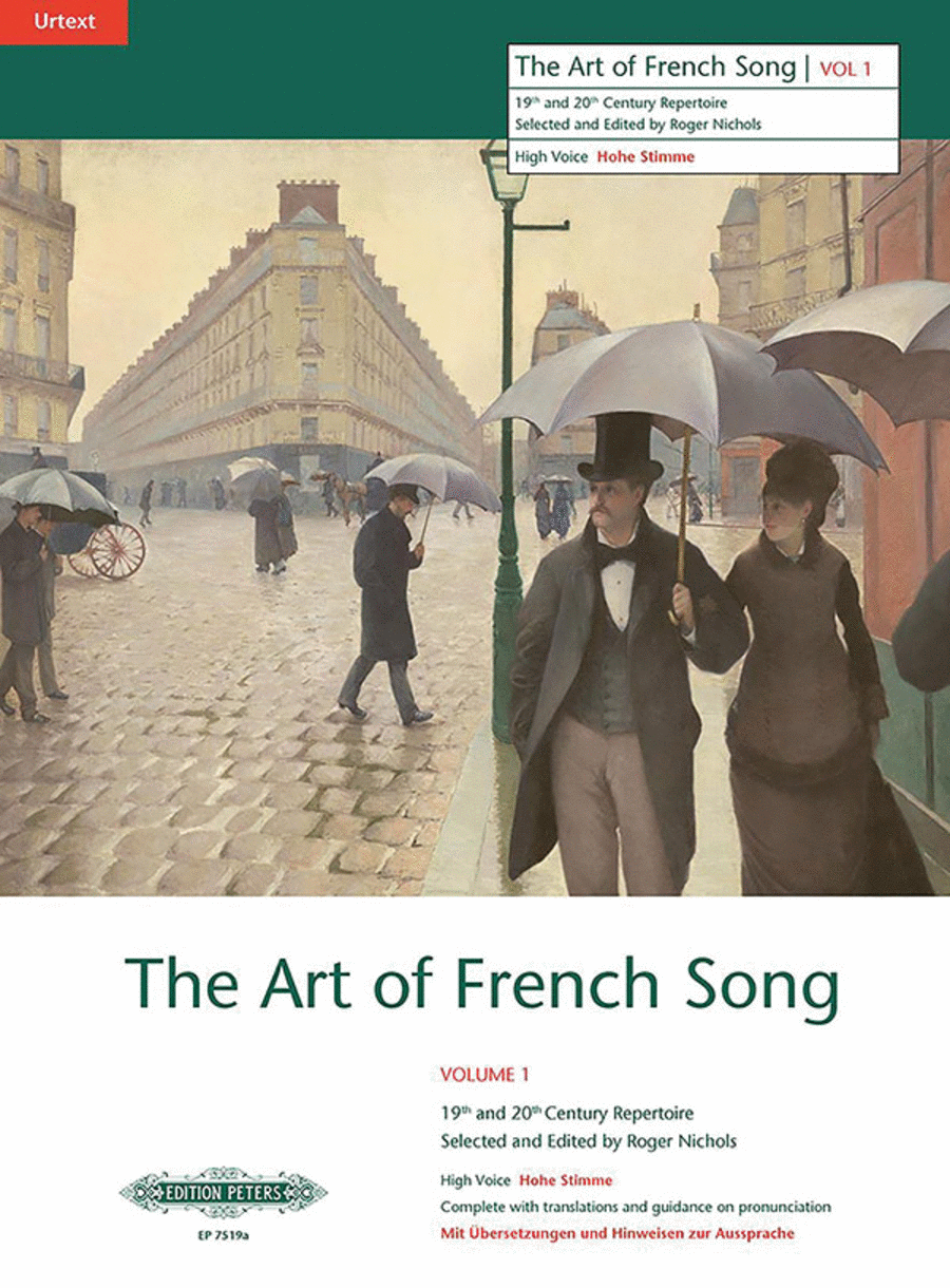 Art Of French Song, Volume 1 - High Voice