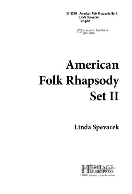 American Folk Rhapsody - Set II
