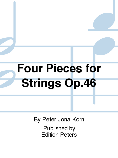 Four Pieces for Strings Op.46