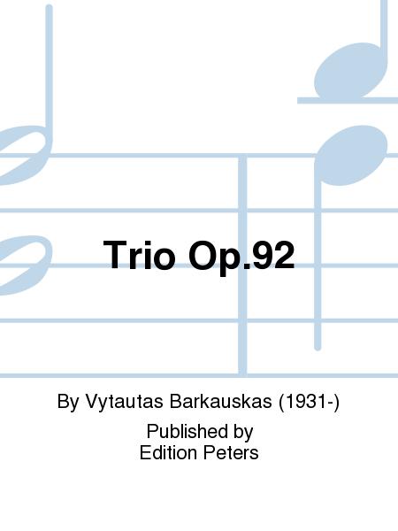 Trio Op.92
