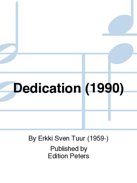 Dedication (1990)