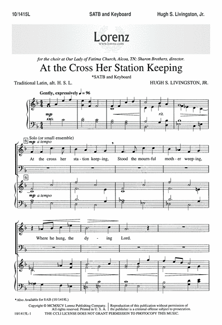 At the Cross, Her Station Keeping