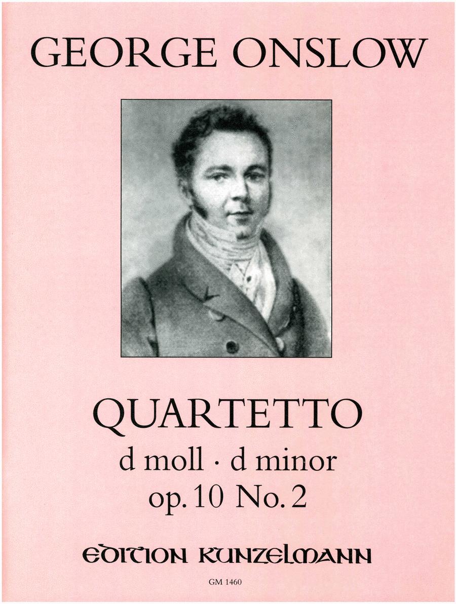 Quartet in D Minor Op. 10 No. 2