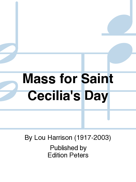 Mass for Saint Cecilia's Day