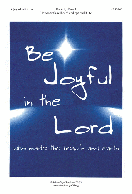 Be Joyful in the Lord