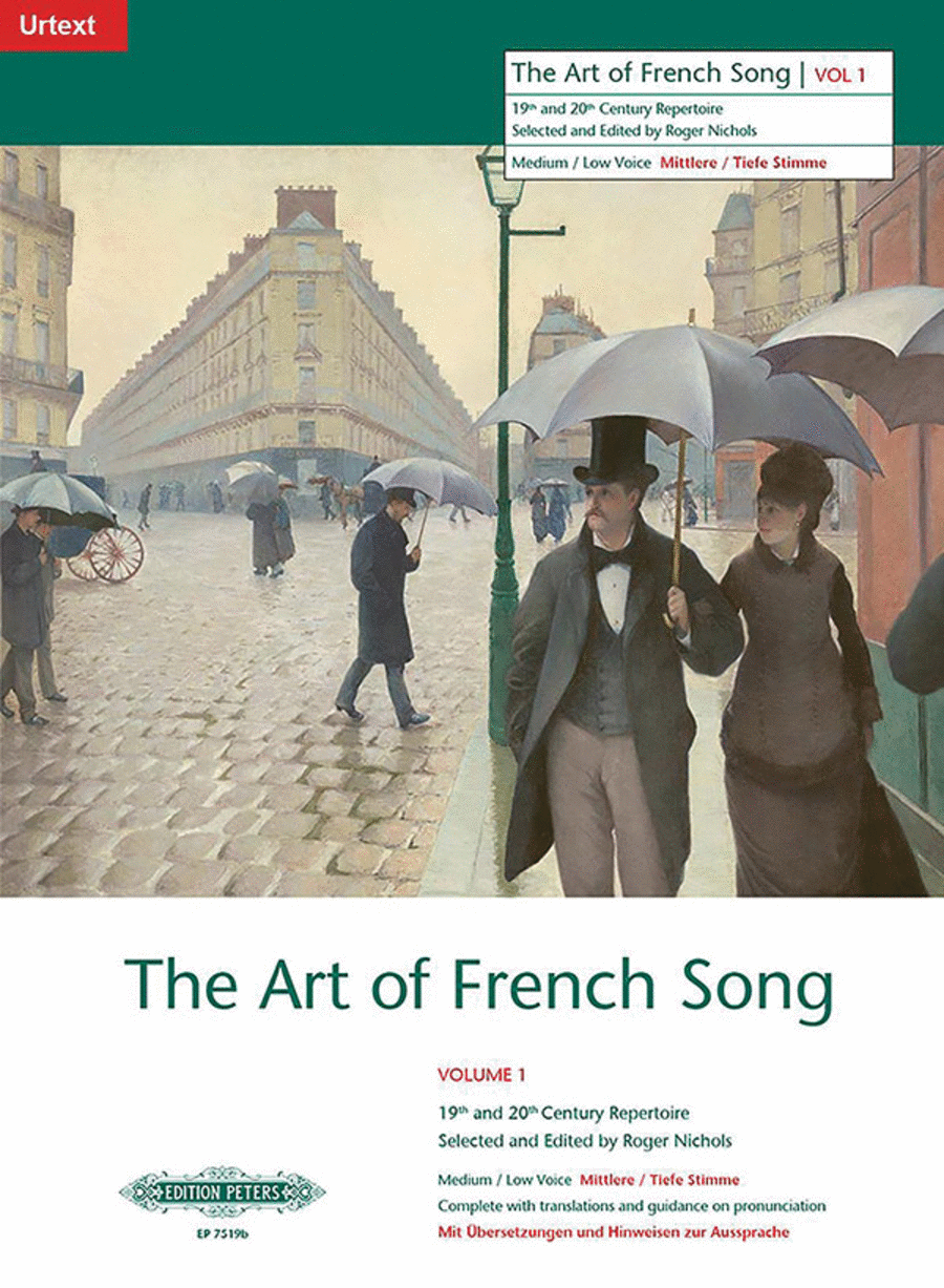 Art of French Song, Volume 1 - Low Voice