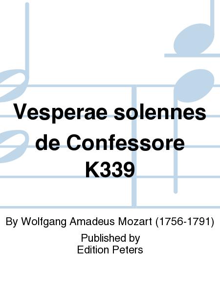 Vesperae solennes de Confessore K339