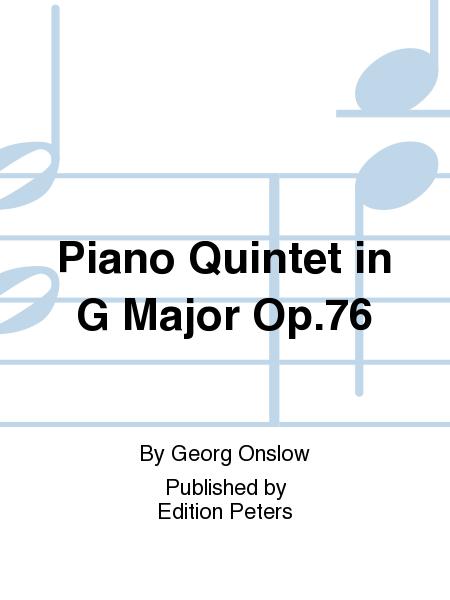 Piano Quintet in G Major Op. 76