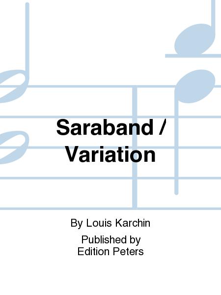 Saraband / Variation