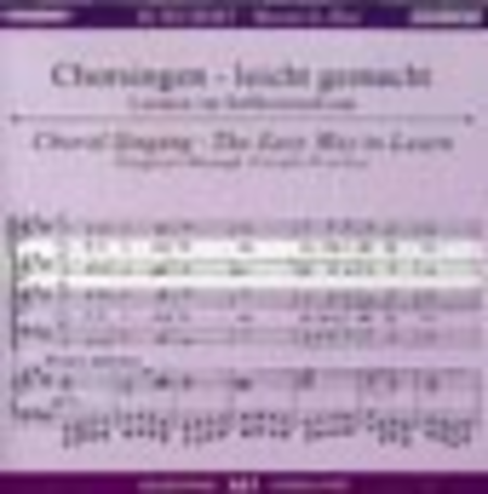 Mass No. 2 in G Major - Choral Singing CD (Alto)