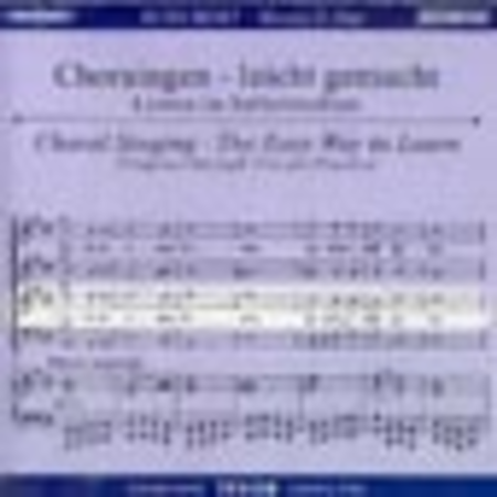 Mass No. 2 in G Major - Choral Singing CD (Tenor)