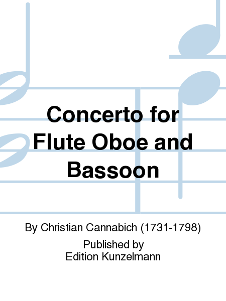 Concerto for Flute Oboe and Bassoon
