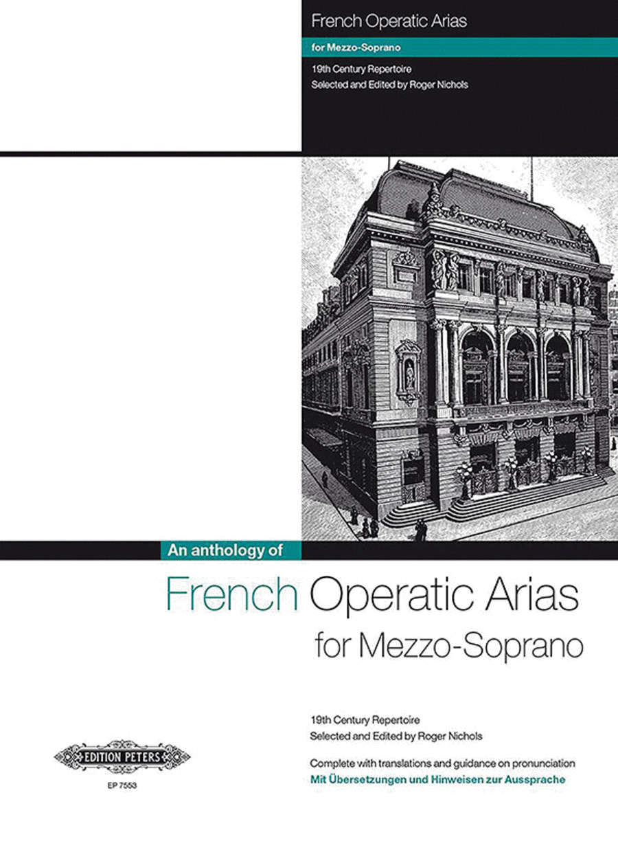 French Operatic Arias for Mezzo-Soprano - 19th Century Repertoire