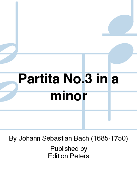 Partita No. 3 in a minor