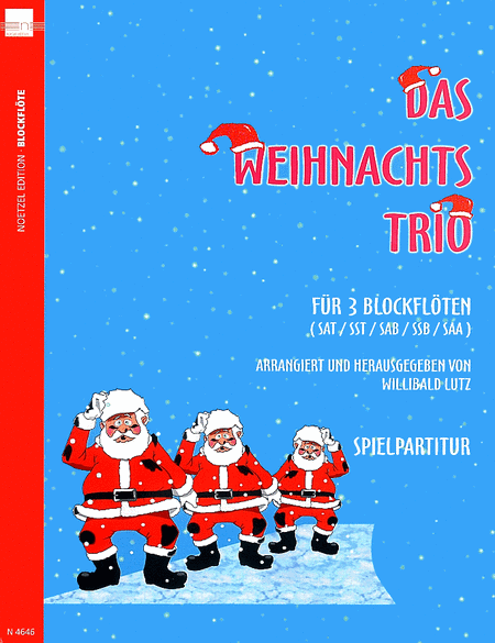 das weihnachts trio sheet music sheet music plus. Black Bedroom Furniture Sets. Home Design Ideas