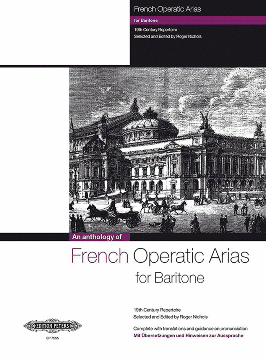 French Operatic Arias For Baritone