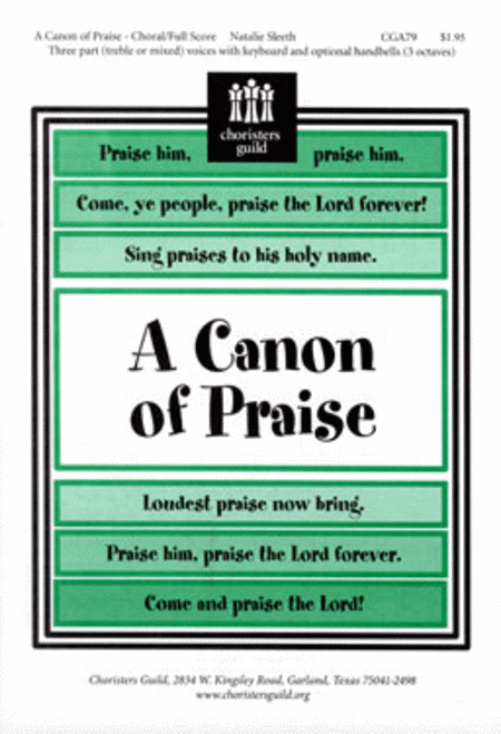 A Canon of Praise