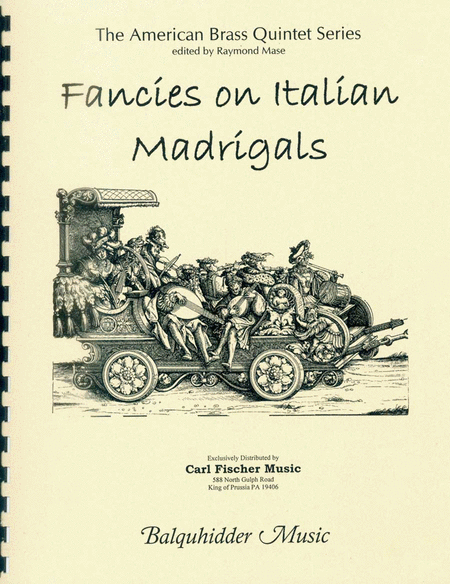 Fancies on Italian Madrigals