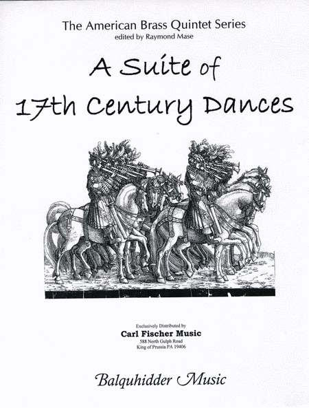A Suite of 17th Century Dances