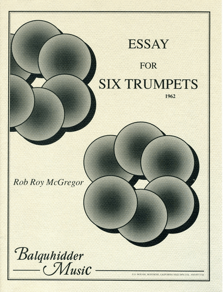 Essay For Six Trumpets
