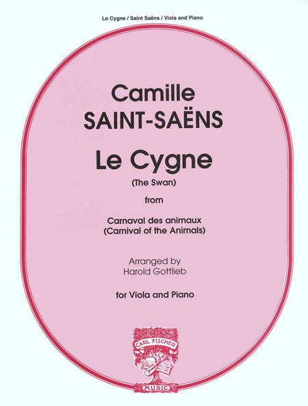 Le Cygne (The Swan) from 'Carnival of the Animals'