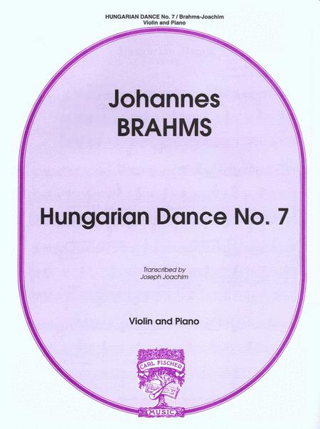 Hungarian Dance No.7