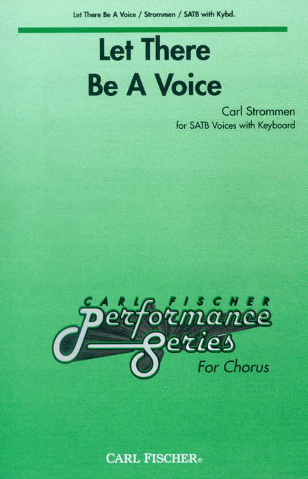 Let There Be A Voice