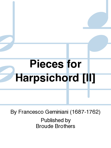 Pieces for Harpsichord [II]
